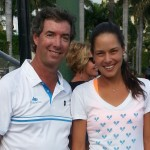 Ray Collins & Ana Ivanovic on Key Biscayne, FL