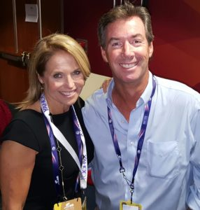 Katie Couric & Ray Collins at the RNC in Cleveland