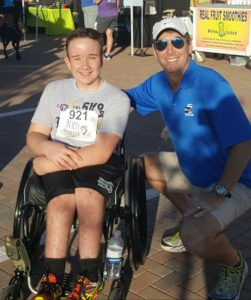 Hosted a 5k, here's Wheelchair 'Runner' Drake Burns