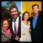 Yasmin Parsloe & Ray Collins at Obama rally in '08 and luncheon in '13