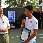Ray Collins & World #4 Kei Nishikori