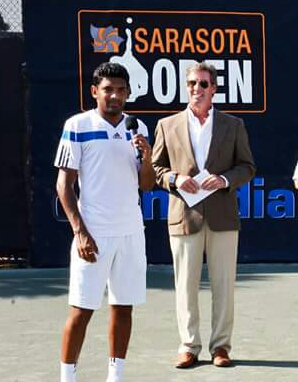 Divij SharanRay Collins at the Sarasota Open