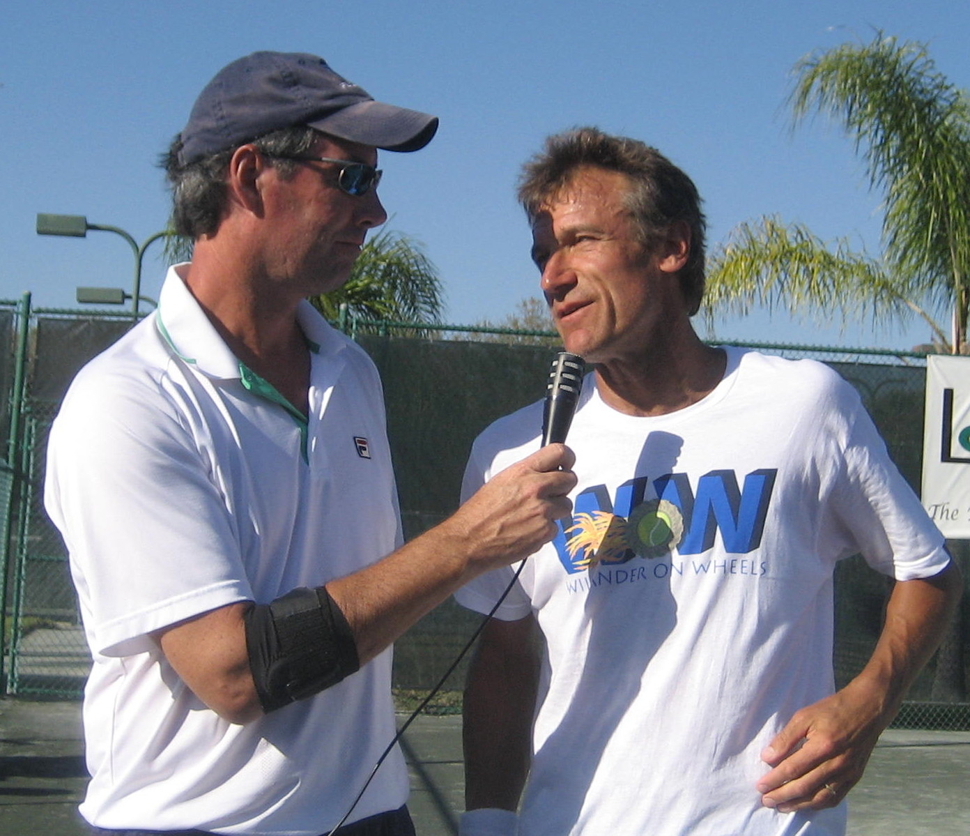 Ray Collins interviews tennis legend Mats Wilander.
