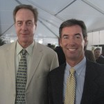 NBA Hall of Famer Dave Cowens and Ray Collins in Sarasota.