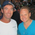 Ray Collins and Daredevil Nik Wallenda in Sarasota.
