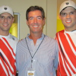 Ray Collins with the Bryan Brothers in Sarasota.
