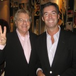 TV host Jerry Springer and Ray Collins.