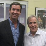 Ray Collins with 'The Fonz', actor Henry Winkler.