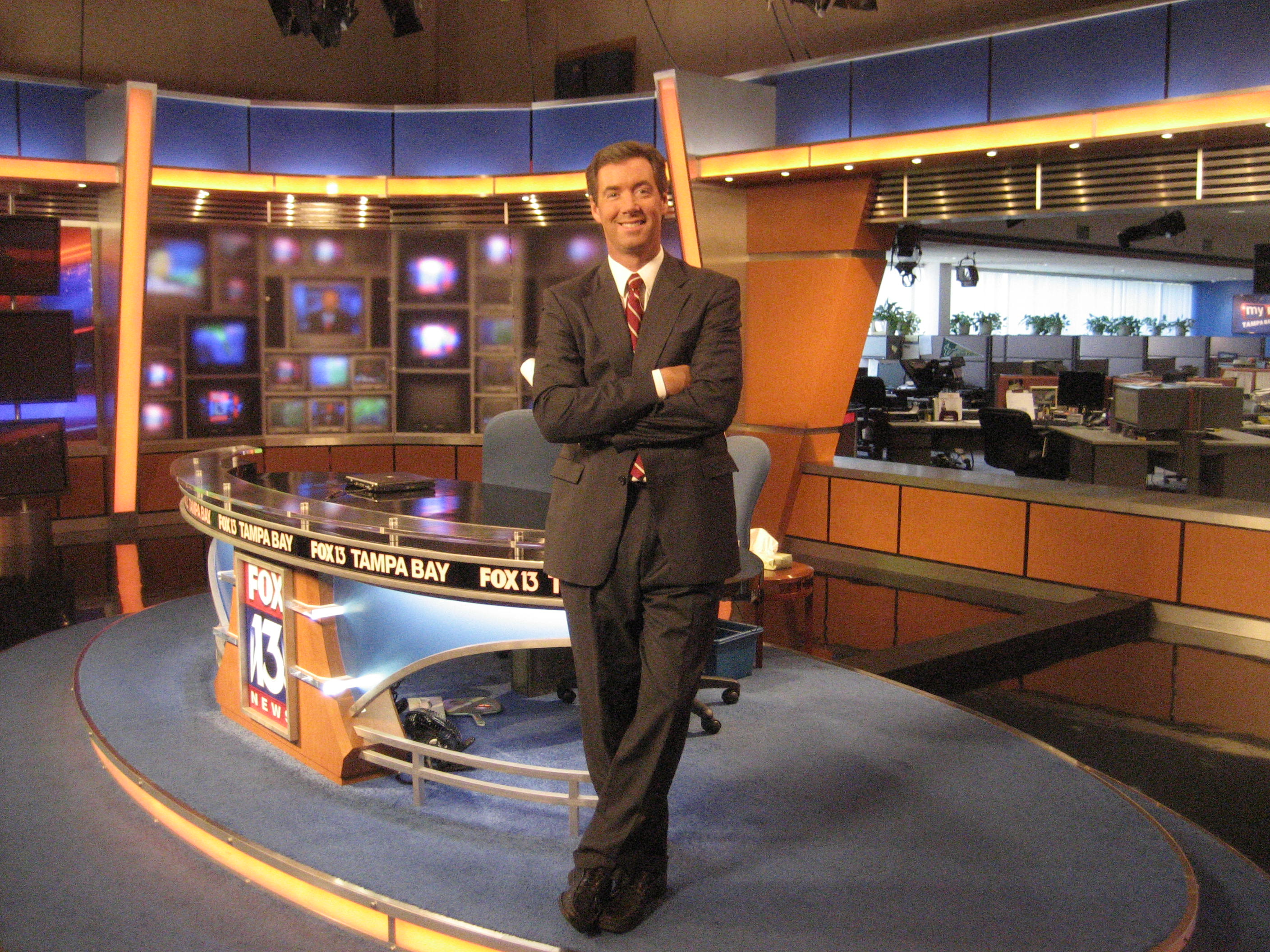 Ray Collins, Fox 13 News Tampa Bay.