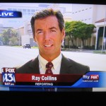 Ray Collins reporting live from downtown Sarasota on Fox 13 News.