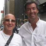 Paul Shafer of the CBS Orchestra and Ray Collins in New York.