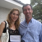 Tennis legend Monica Seles and Ray Collins.