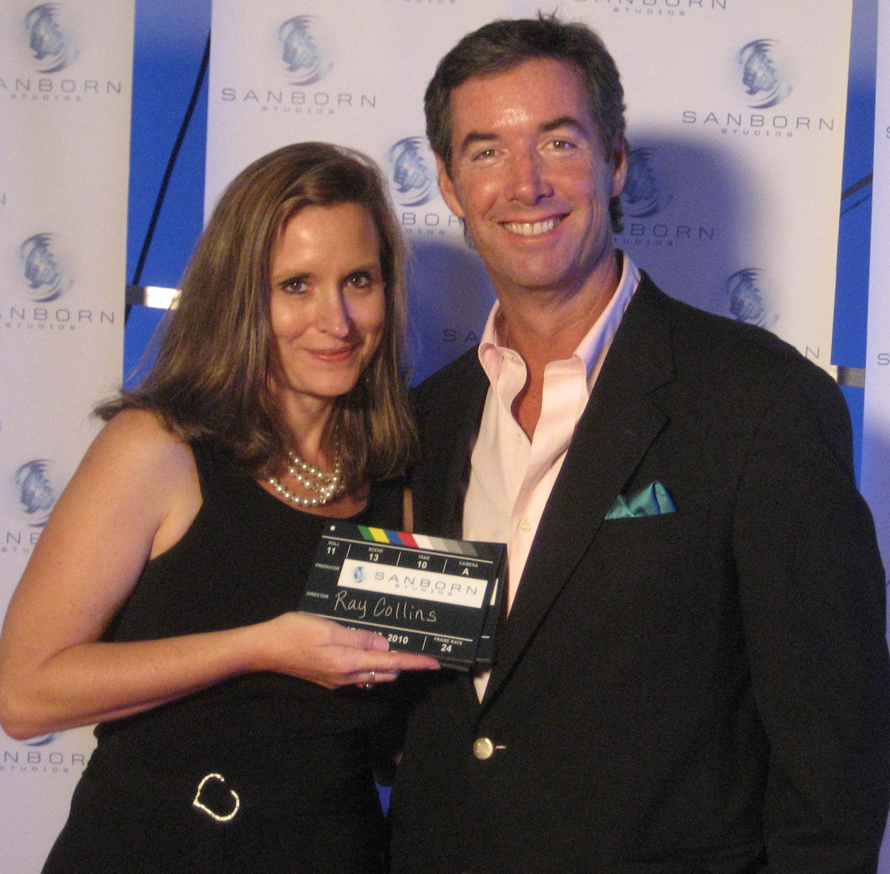 Sarasota Film Festival Director Kathy Jordan and Ray Collins.