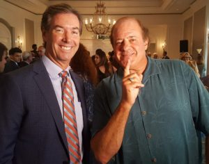 Ray Collins & ESPN's Chris Berman