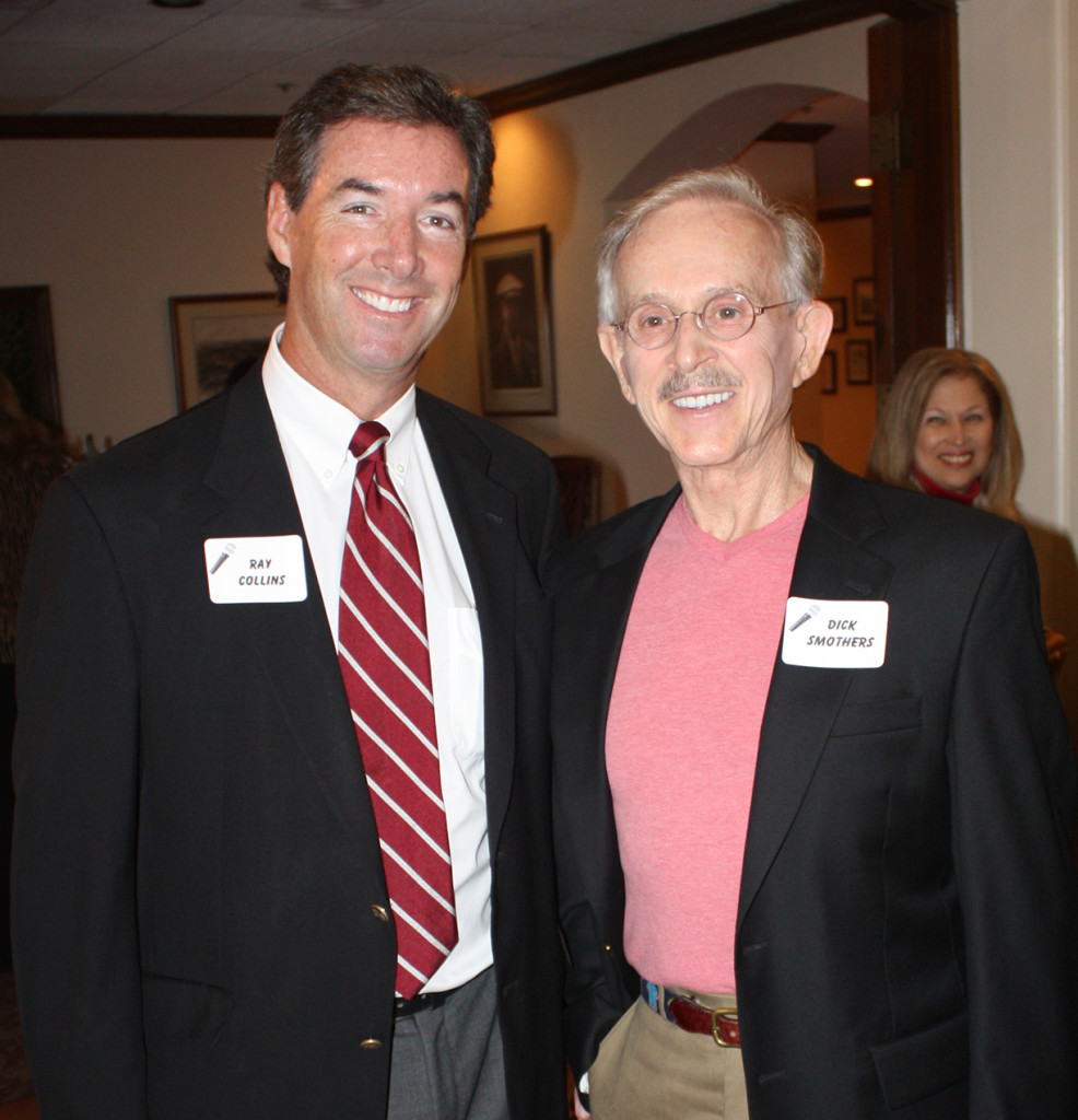 Ray Collins & Comedian Dickie Smothers