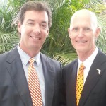Ray Collins & Gov. Rick Scott (R-FL)
