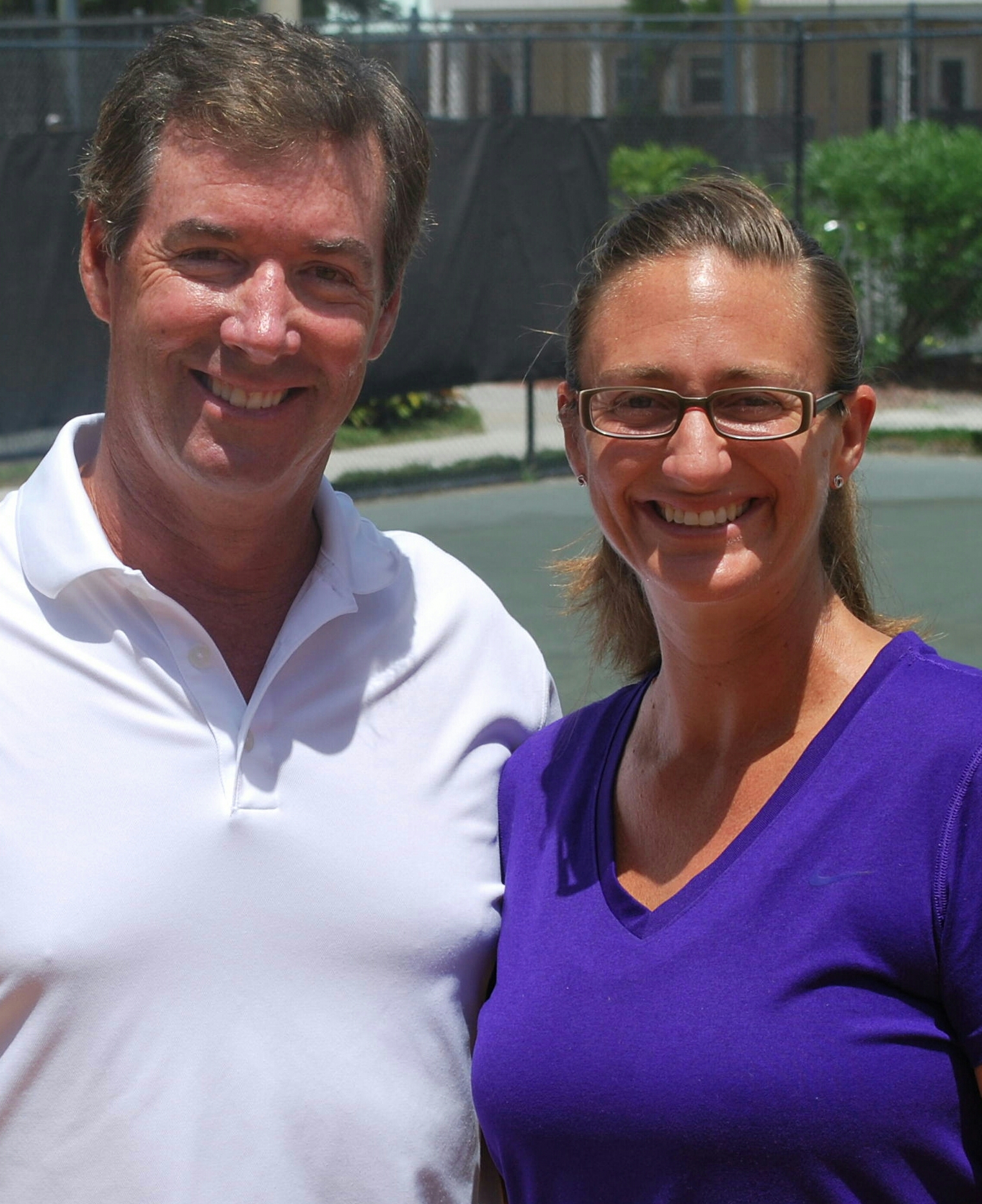 Ray Collins & Tennis Champ Mary Pierce Ray Collins MediaRay