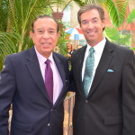 "President Emeritus of FL Int'l Univ ""Mitch"" Maidique & Ray Collins"