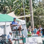 Ray Collins hosting tennis exhibition in Venice, FL.