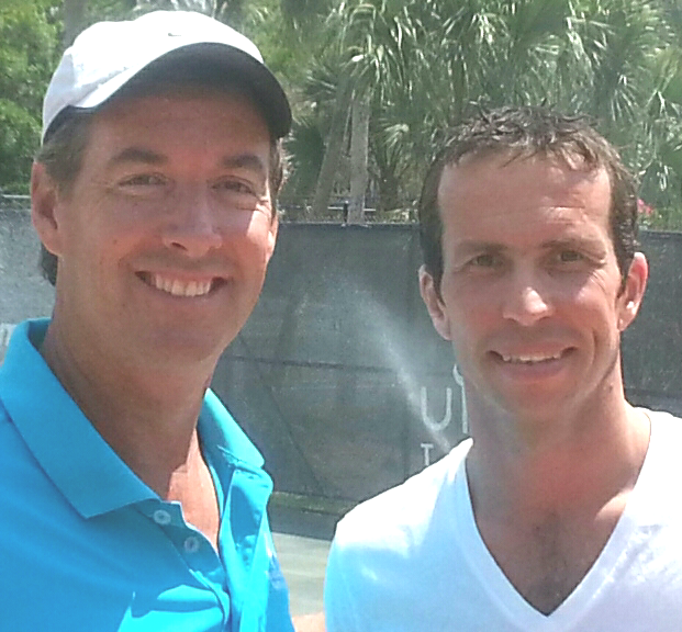 Ray Collins & World #8 Radek Stepanek
