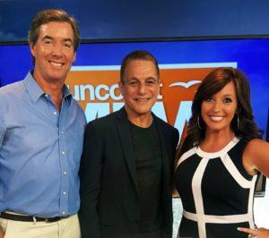 Ray, Stephanie & Tony Danza
