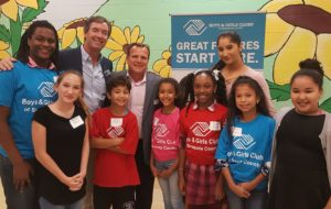 Ray with Boys and Girls Club