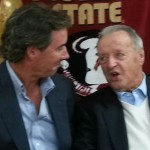 Ray Collins and legendary FSU Coach Bobby Bowden.