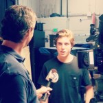 Ray Collins interviews American Idol Finalist Sam Woolf.