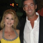 Actress Audrey Landers & Ray Collins.
