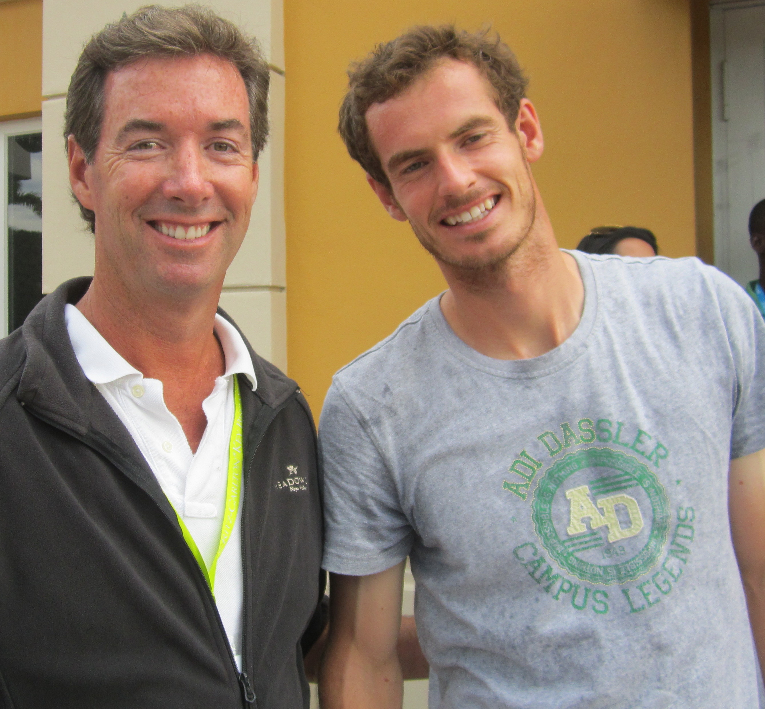 Ray Collins Andy Murray Key Biscayne